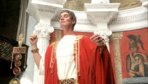 "Palin in the irreverent parody ""The Life of Brian."""