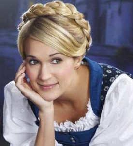 "Carrie Underwood shines as Maria in ""Sound of Music"" remake."
