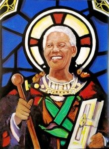 """Saint Mandela"" by David Roux."