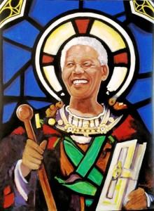 """Saint Mandela"" by David Roux."