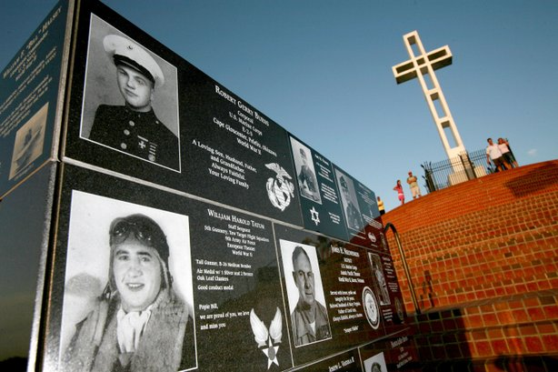 Service members of all Faith, to include those of none, are remembered at the Mt. Soledad Memorial.