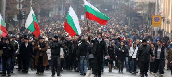 Patriotic Bulgarians have had enough.