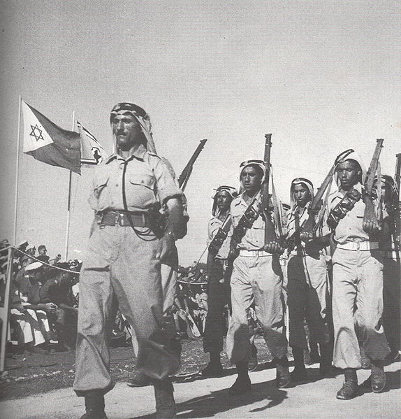 Bedouin fighters for Israel, 1949.