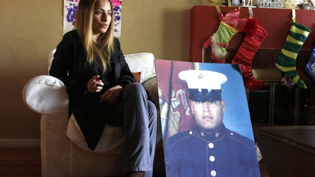 Icela Peralta Donald, sister of fallen Marine Sgt. Rafael Peralta, still fights for MoH for her hero brother.