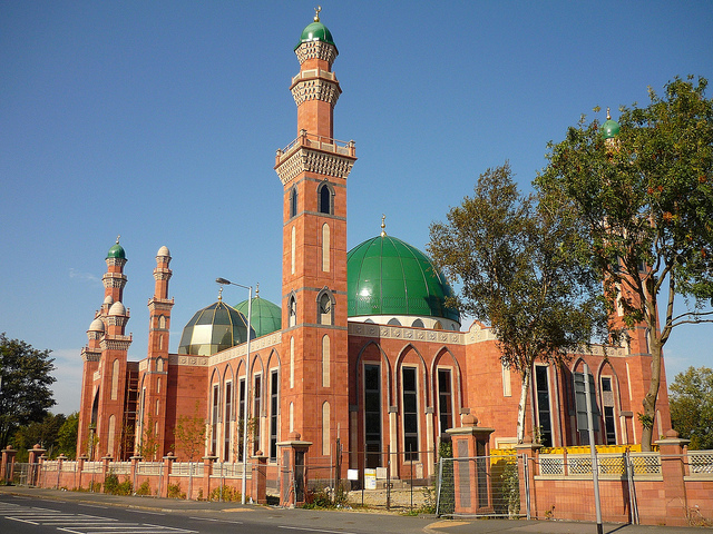 One of the many mosques in Bradford.