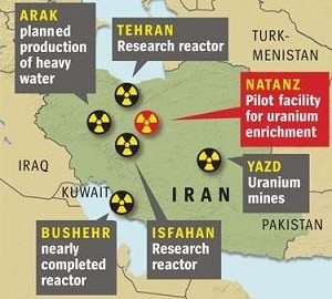iiiran-nuclear-facilities-map