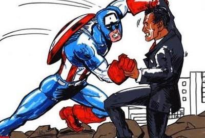 500px-Captain-america-vs-barack-obama-captain-america-barack-obama-demotivational-poster-1248345809