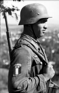 Saudi soldier serving Der Führer.
