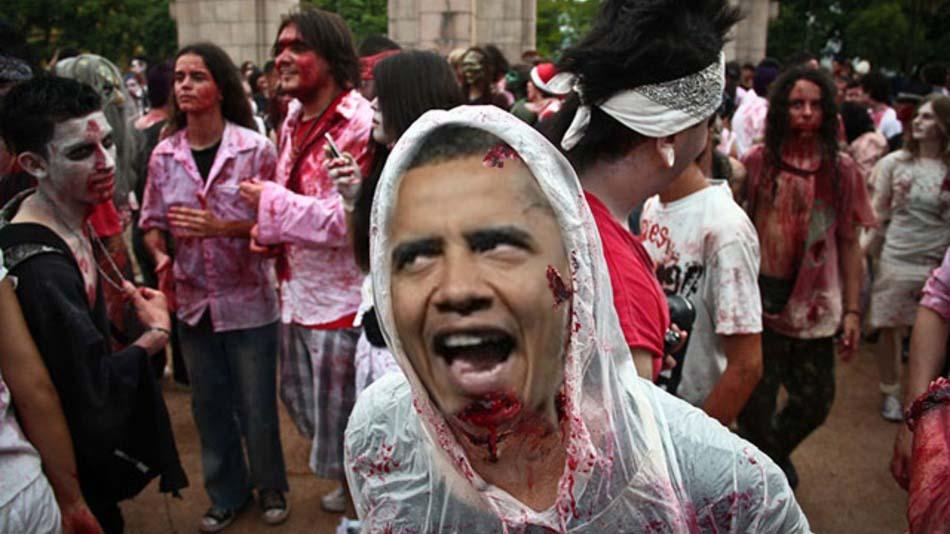 Obama-Zombies