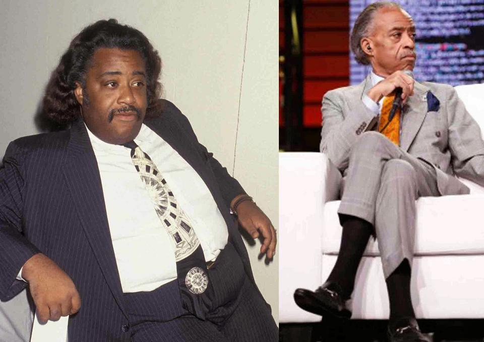 al sharpton pictures weight loss