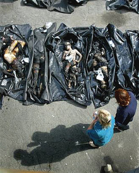 The Beslan Massacre, Russia.