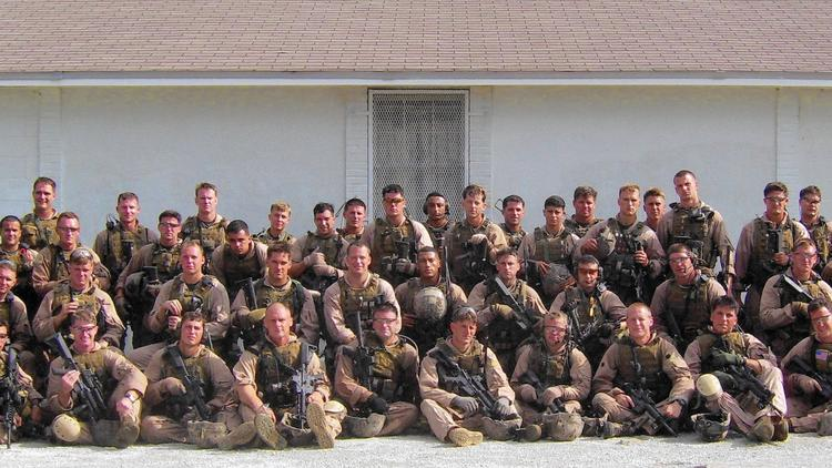 Marines of 1st Platoon, Fox Company.