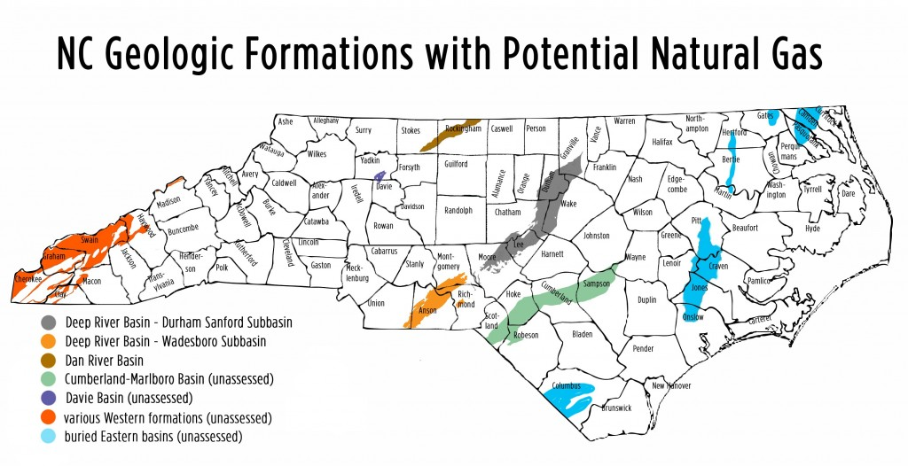 Just as a for instance, North Carolina natural gas plays spill over to Virginia, South Carolina, Georgia and Tennessee.