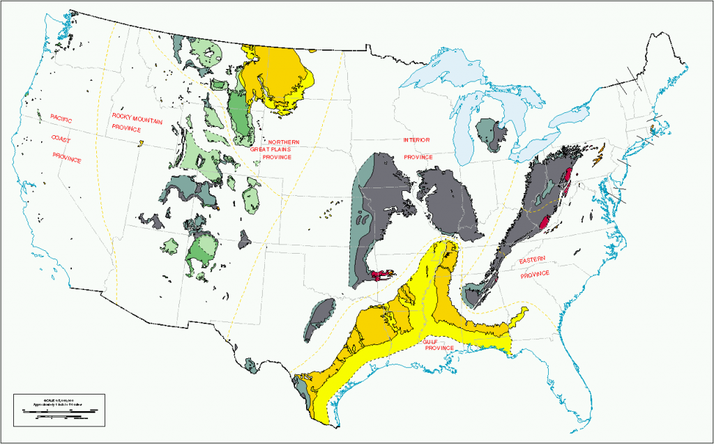 From western Washington State to the panhandle of Florida - America's coal reserves.