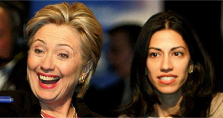 Clinton and friend. (Photo: Pinterest)