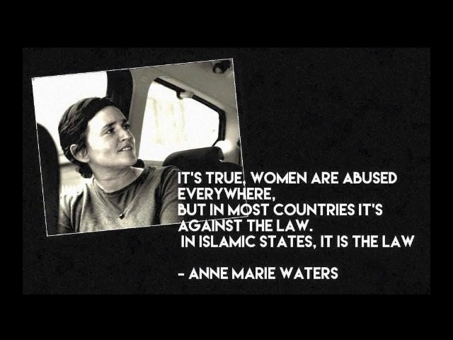 Anne Marie Waters hammers liberalism. (Facebook)