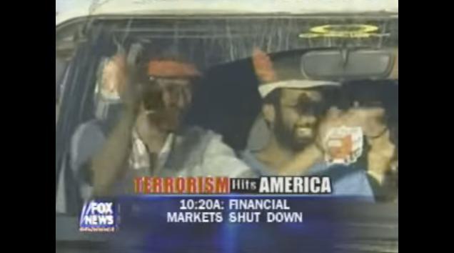 Muslims celebrate jihad attacks of September 11. (Youtube)