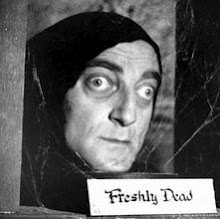 All the boys think she's a spy. She's got Marty Feldman eyes.