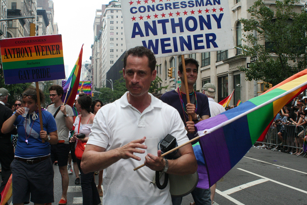 New York homosexuals love their Weiner. (Flickr)