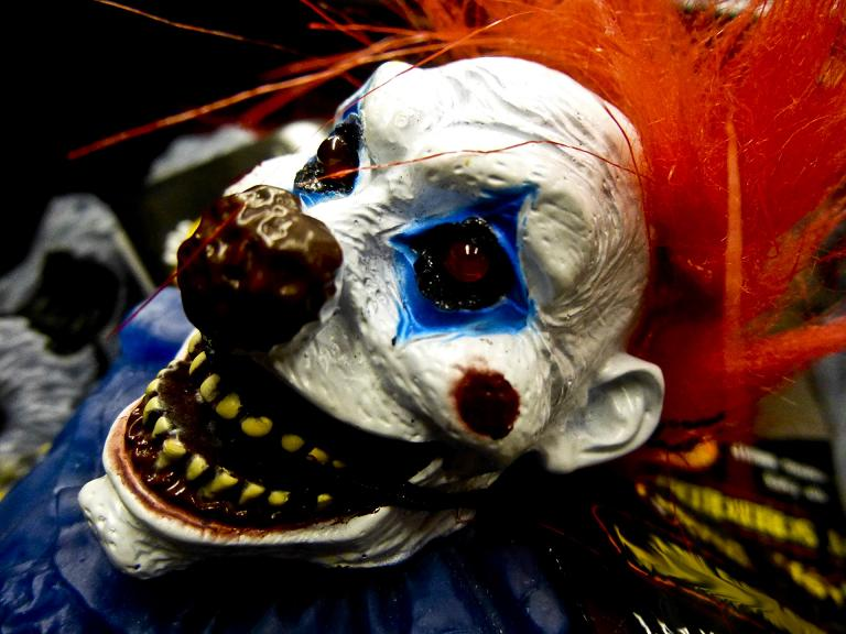 Creepy clown sightings on the rise. (Pinterest)