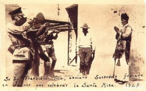 Father Francisco Vera, martyred by troops of Mexico's Socialist government during the Cristeros War of the 1092s. (Wikipedia)