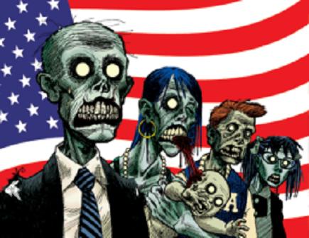 Zombie America. (Screetshot)