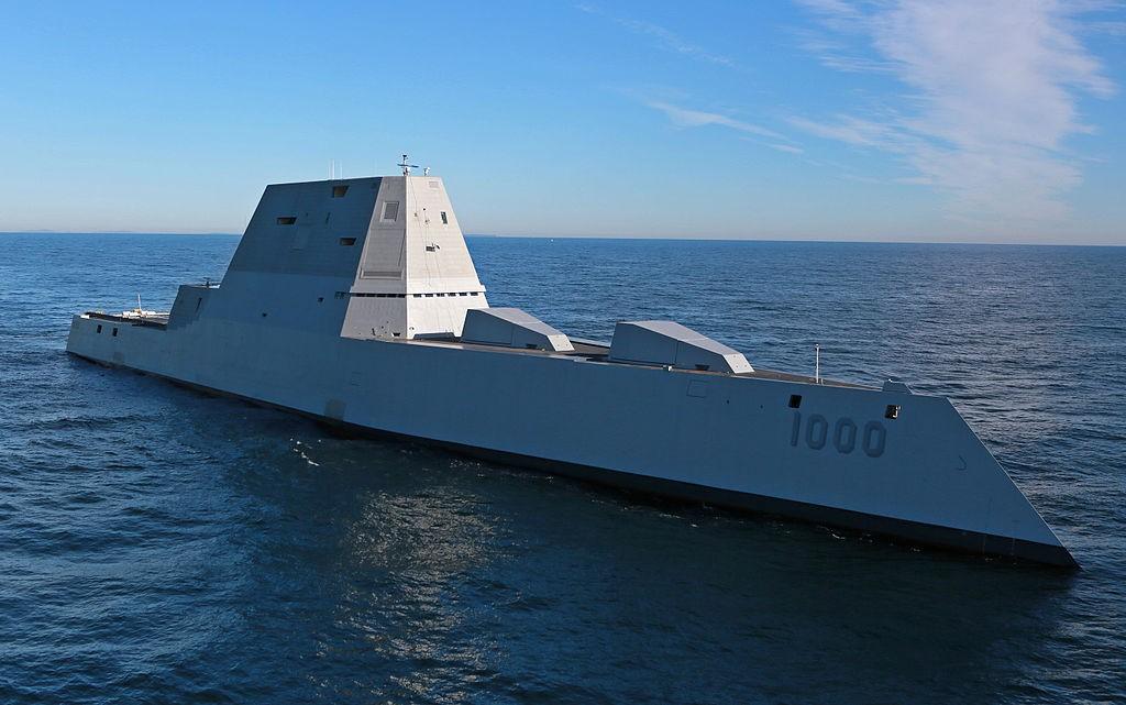 USS Zumwalt (DDG-1000). (Wikipedia)