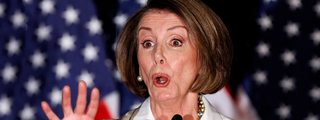 Nancy Pelosi. (Twitter)