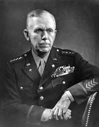 General of the Army George C. Marshall.