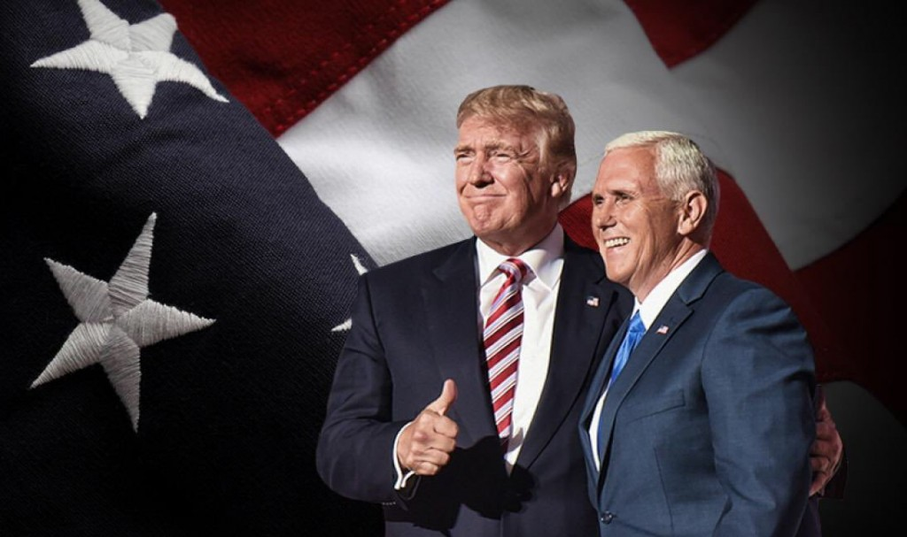 Never Trumpers whine, Trump and Pence shine. (Twitter)
