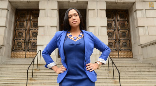 Marilyn Mosby in her more arrogant days. (Twitter)