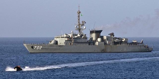 Royal Saudi Navy Al- Madinah class frigate