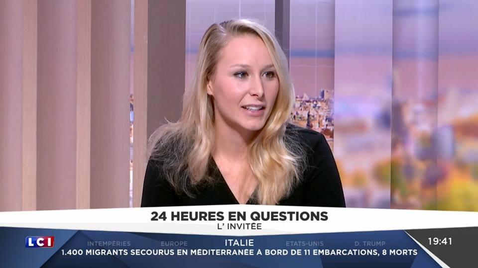 Marion Maréchal-Le Pen. (Facebook)