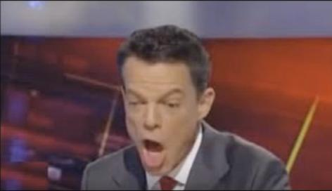 Open wide for Shep Smith. (Youtube)