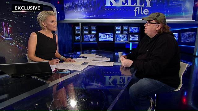 Megyn Kelly throws softballs to liberal heart throb Michael Moore. (Youtube)