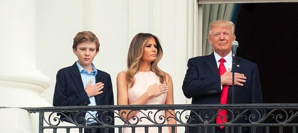 Barron Trump.