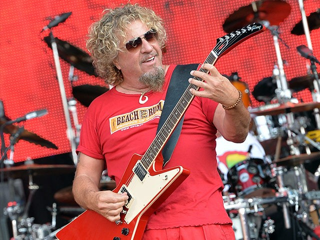Himself from a long line of Syrian Christians, Sammy Hagar.