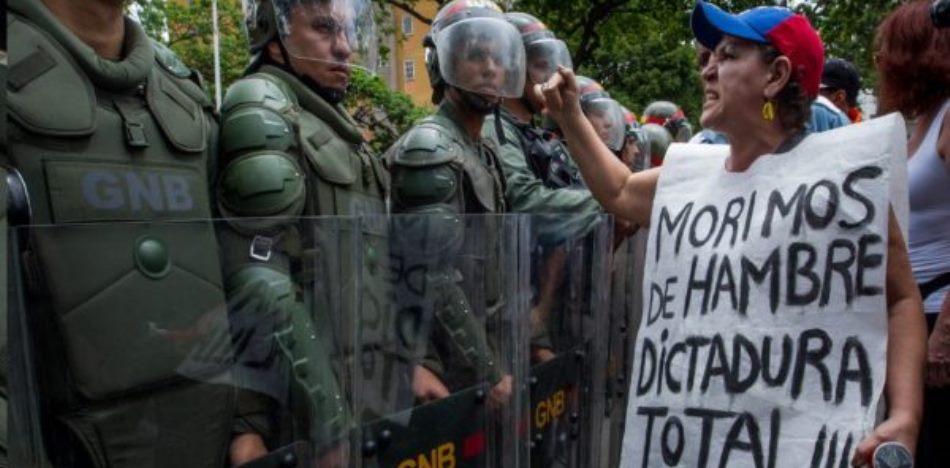 """We die of hunger because of total dictatorship."""
